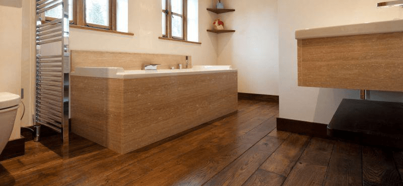 Montreal Bathroom Parquet Flooring